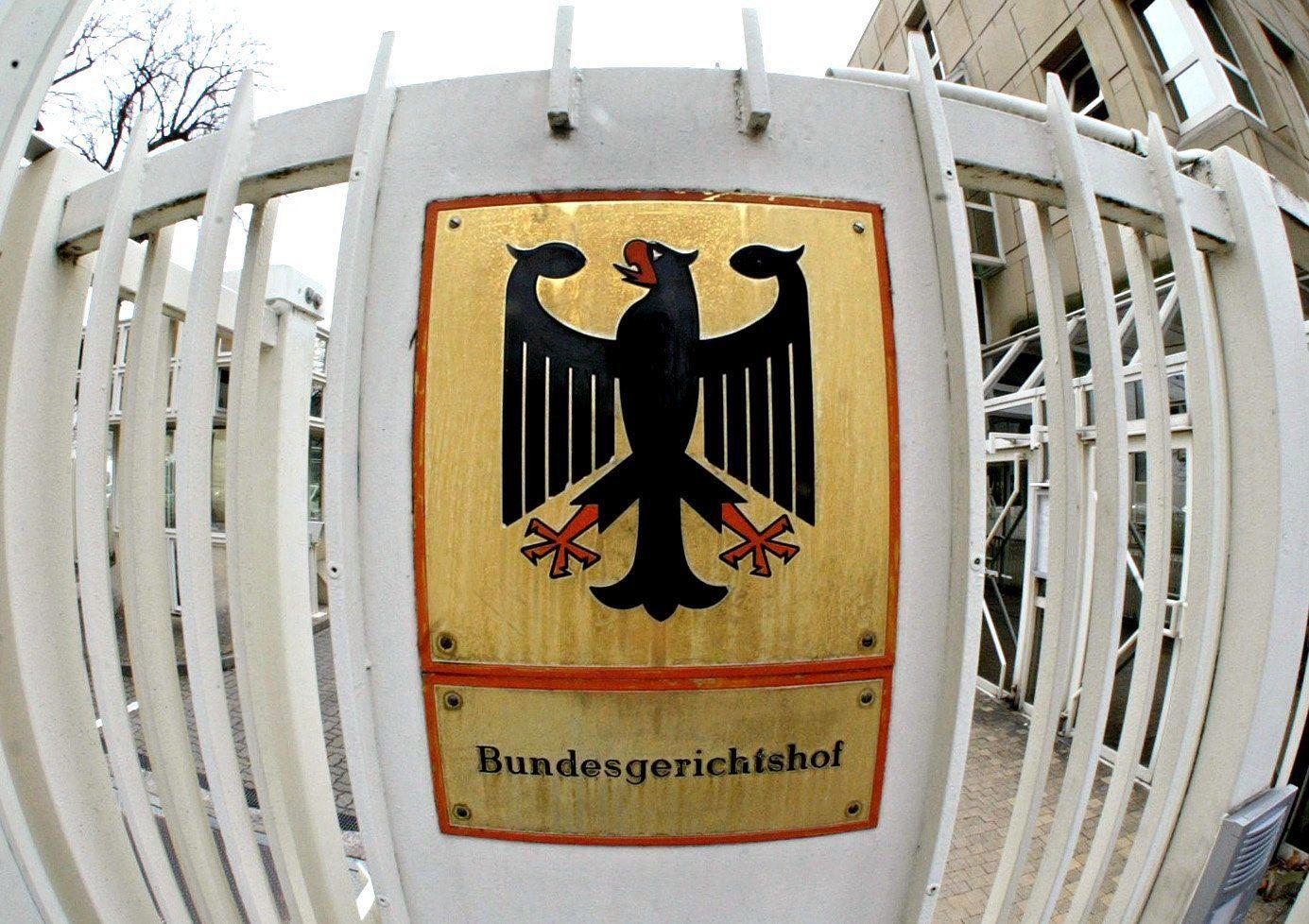BGH - Schild / Bundesgerichtshof