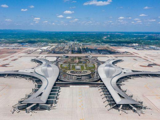 Chengdu Tianfu International Airport: Megaflughafen in der Sichuan-Provinz