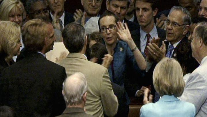 US-Abgeordnete Giffords: Die Heimkehrerin