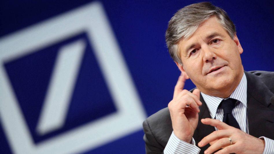 Josef Ackermann: Der Deutsche-Bank-Chef baut sein Institut weiter aus