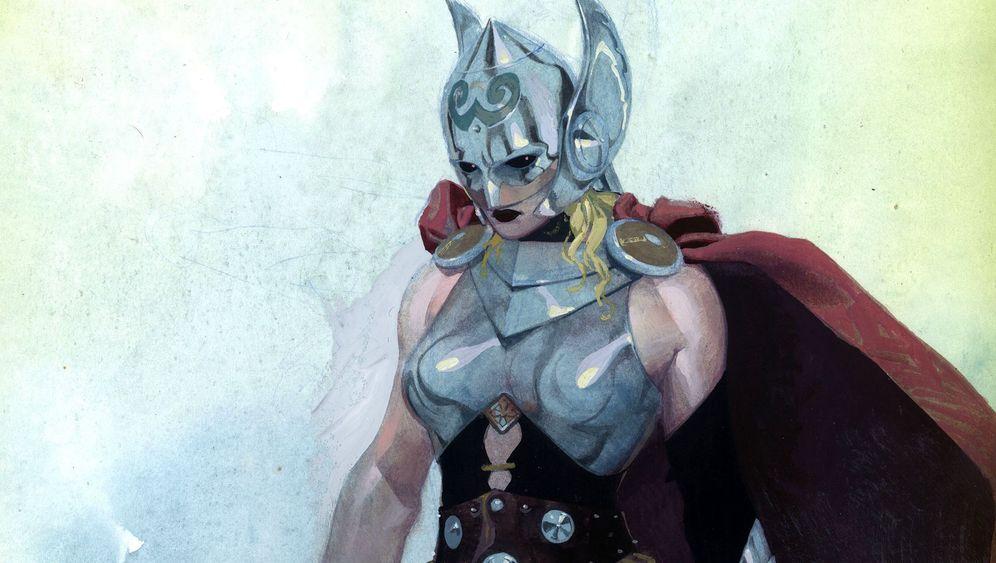 Die Thor: Eine Frau an den Hammer