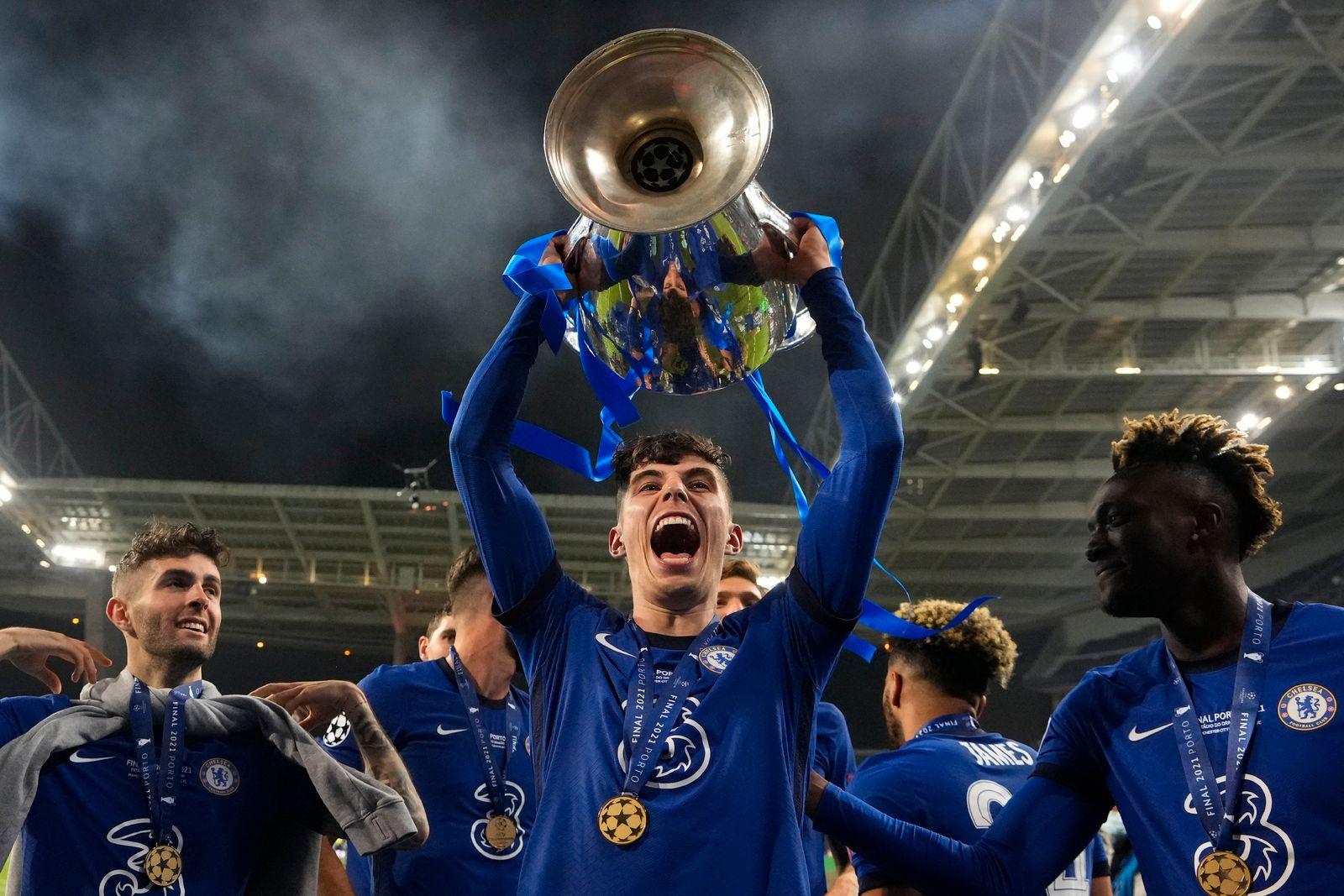Champions League Kai Havertz Und Sein Fc Chelsea Mit 21 Ein Konig Der Spiegel