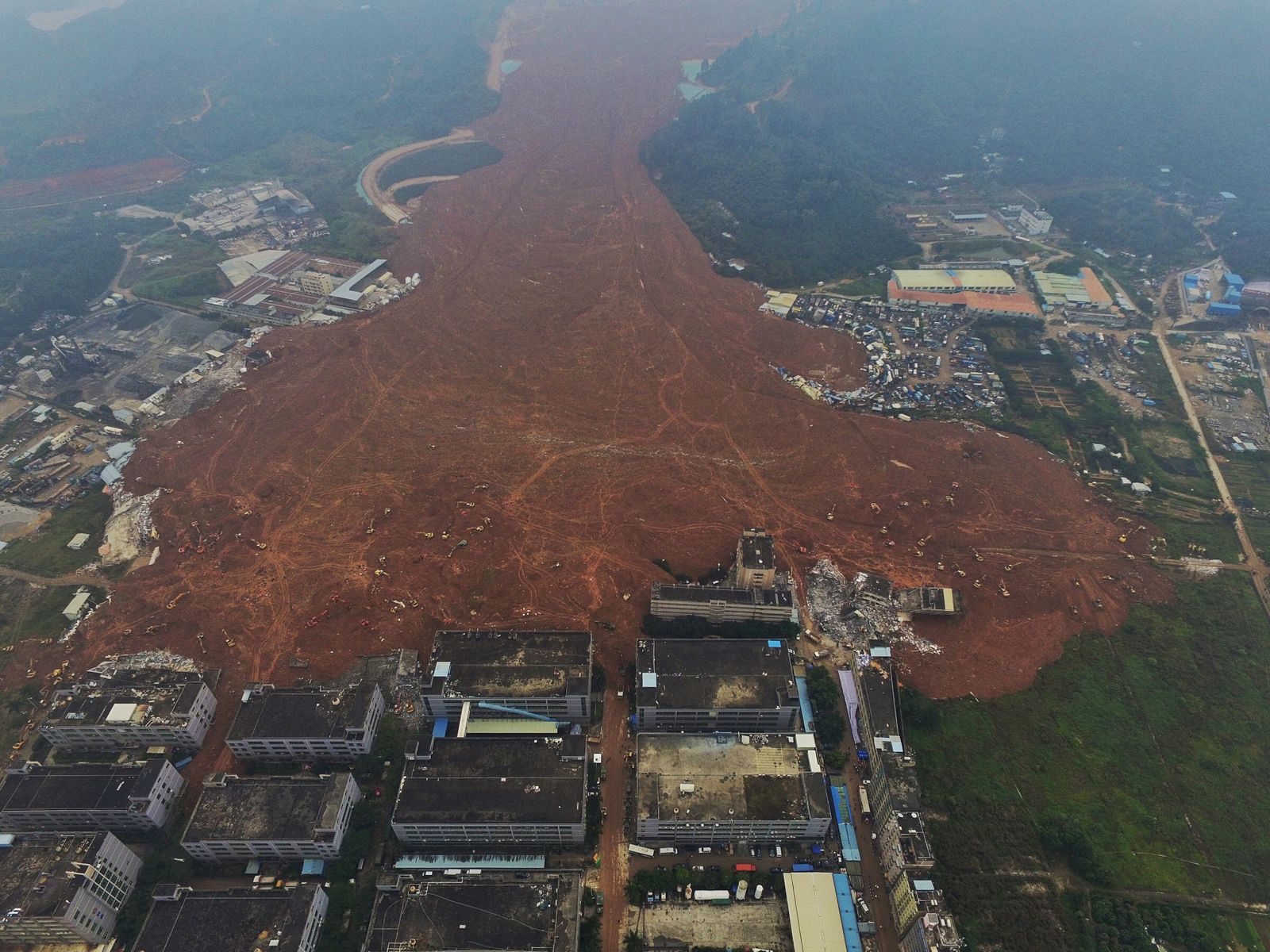 China ramps up search for survivors a day after deadly landslide