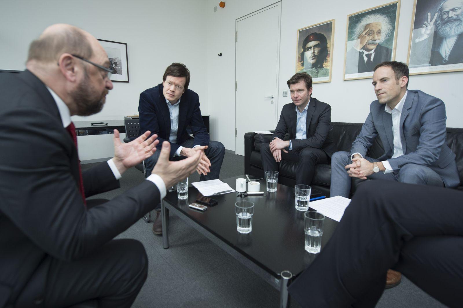Schulz/ Interview