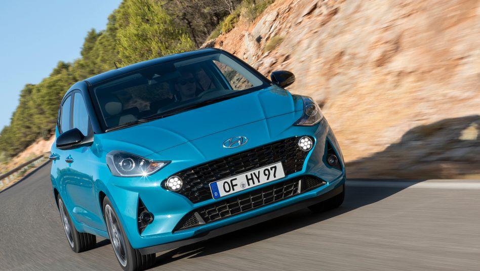 Kesse Optik, knackige Technik - so tritt die dritte Generation des Hyundai i10 an