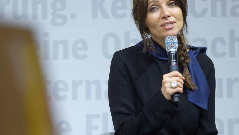 """Elif Shafak auf der Buchmesse: """"Ich bin nicht sehr optimistisch"""""""