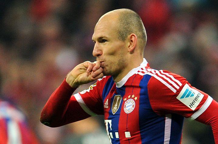 Bayern-Stürmer Robben: Hollands Sportler des Jahres