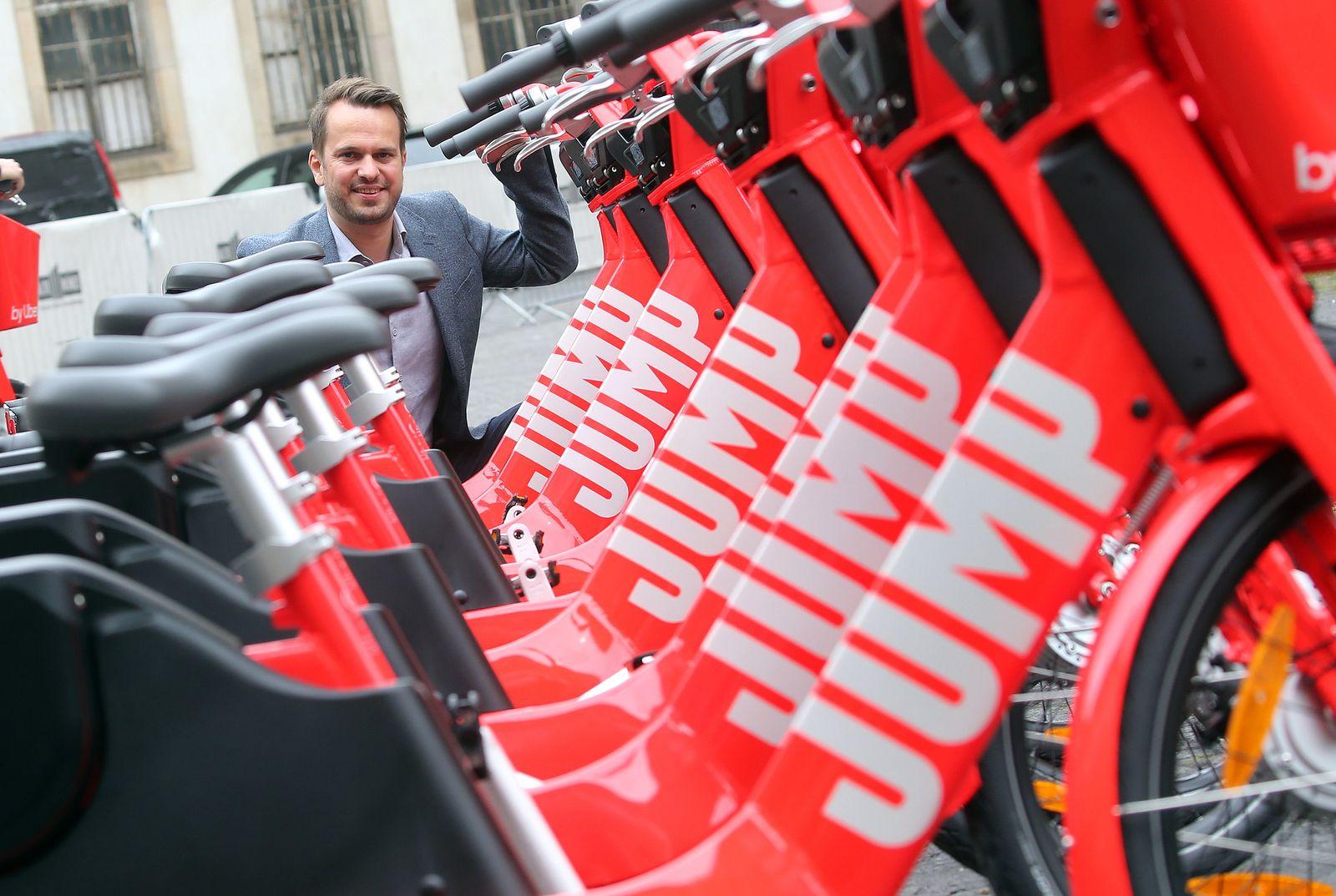 Uber / Jump-Elektrofahrräder