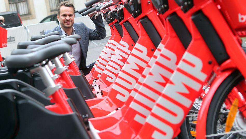 Elektrofahrräder der Uber-Tochter Jump