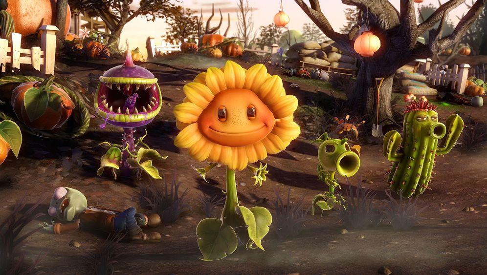 Angespielt Plants Vs Zombies Garden Warfare Der Spiegel