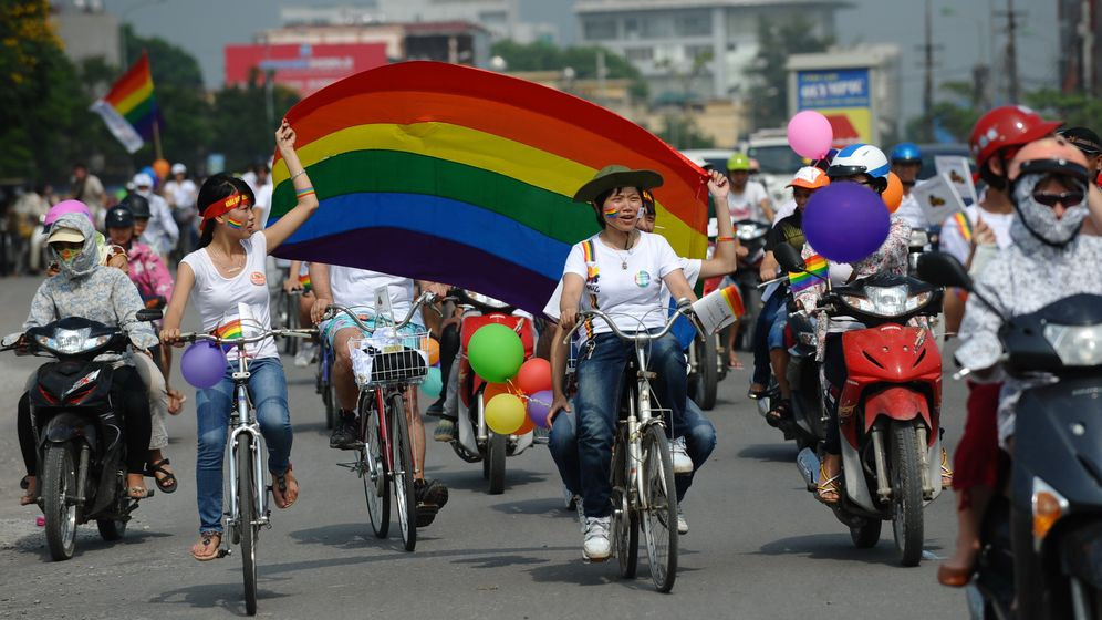 Hanoi: Erste Homosexuellen-Parade Vietnams