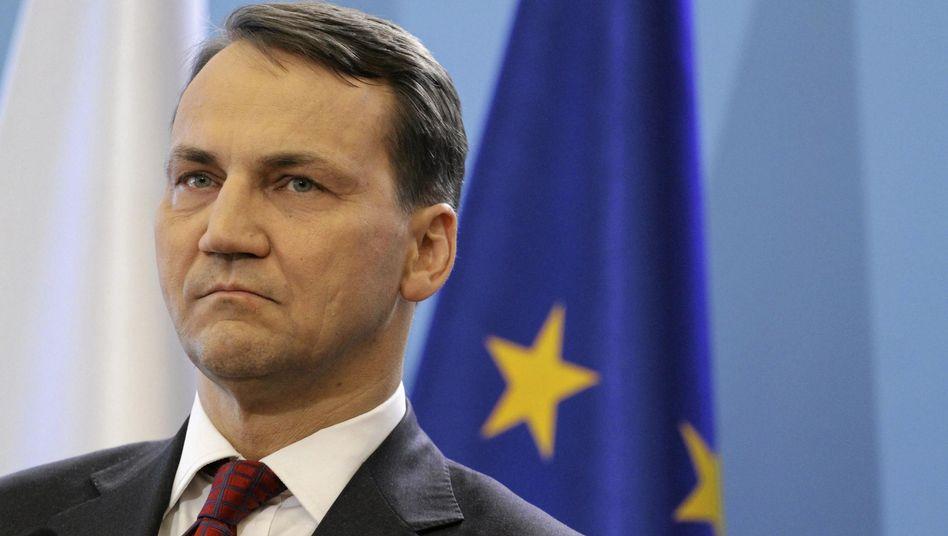 """Polens Ex-Außenminister Sikorski: """"Die gemeinsame Außenpolitik der EU ist gescheitert"""""""