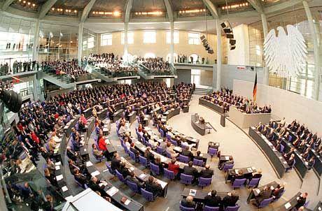 Bundestag: Verschnupfte Abgeordnete?