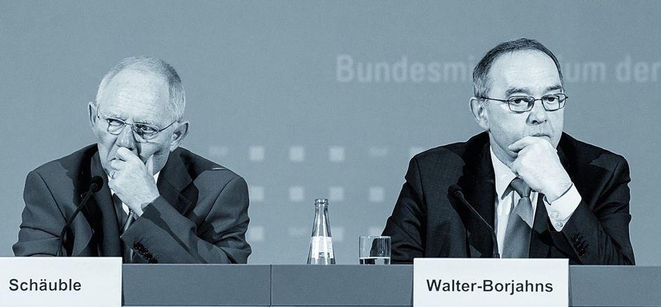Finanzminister Schäuble, Walter-Borjans: »Traumgehälter fallen nicht vom Himmel«