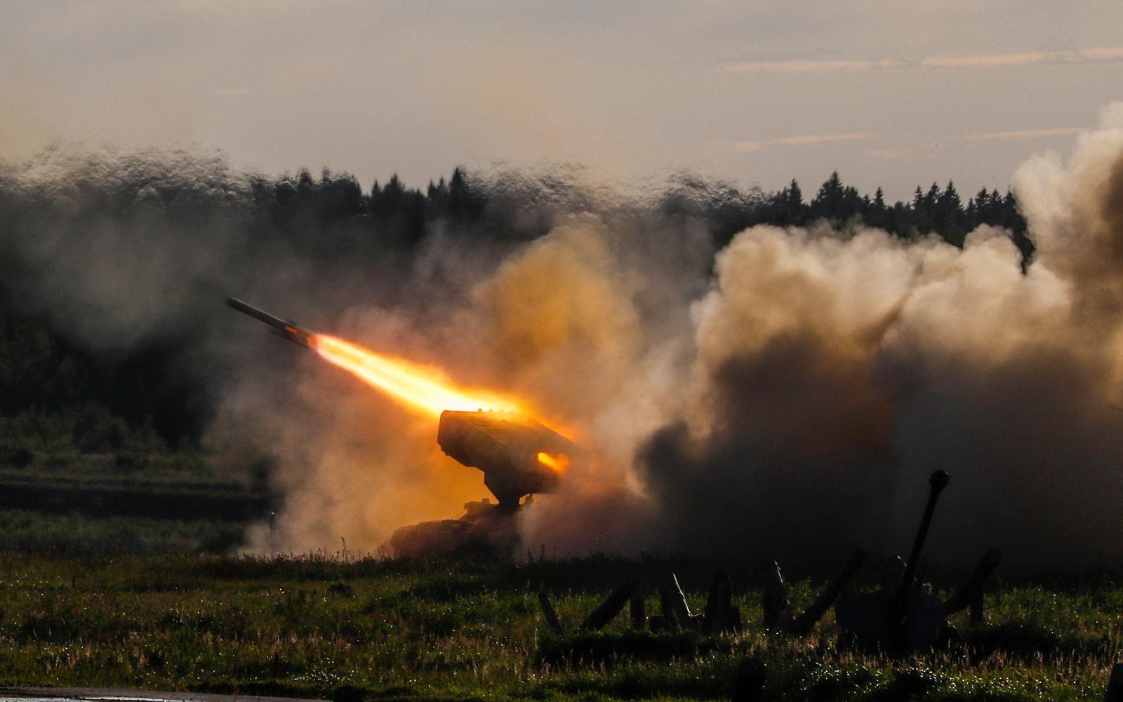 Russland/ Militärmanöver/ Alabino