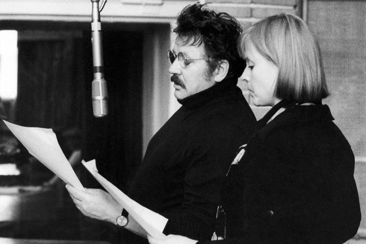 Ursula Karusseit 1976 mit Kurt Böwe