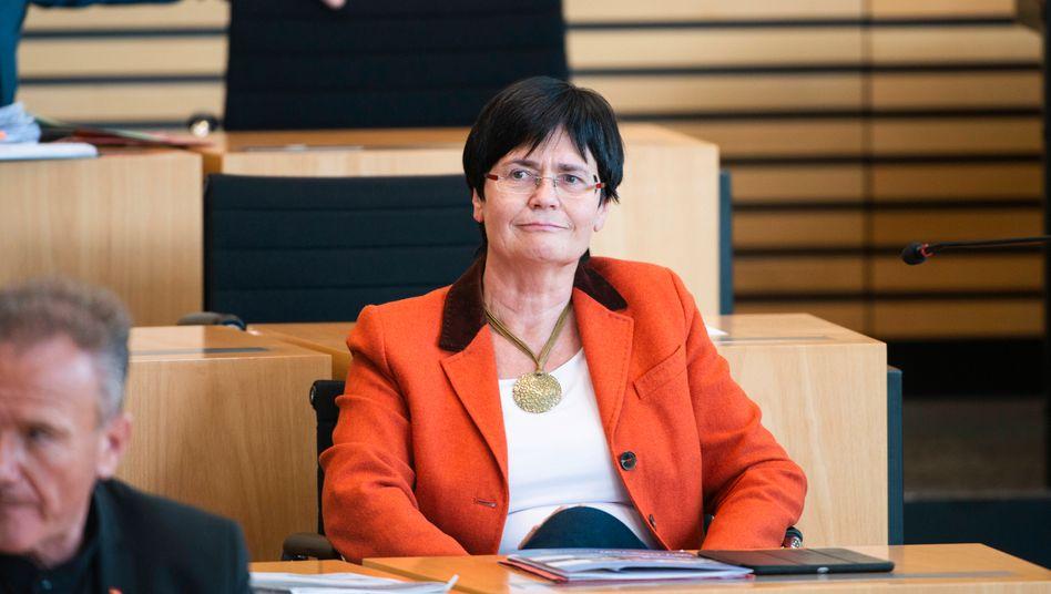 Christine Lieberknecht (CDU) wollte nur kurz thüringische Regierungschefin des Übergangs sein. Das wollte ihre Partei nicht. Jetzt will sie nicht mehr