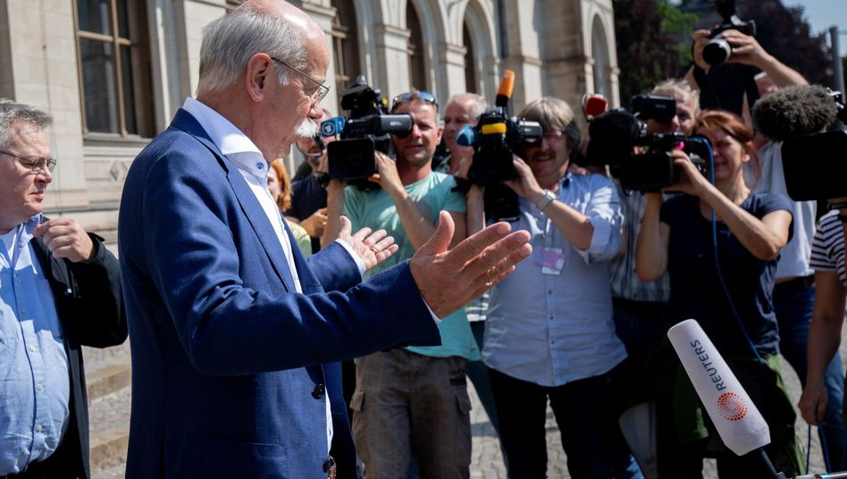 Daimler-Boss Dieter Zetsche Ende Mai in Berlin