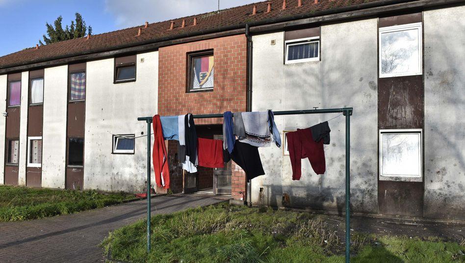 Eine Flüchtlingsunterkunft in Recklinghausen