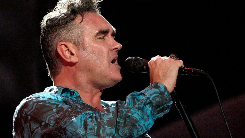 Rockstar Morrissey (im April 2009): Keine Majestätsbeleidigung, bitte!