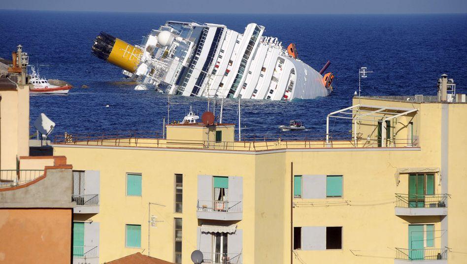 """Havarie der """"Costa Concordia"""": Passagiere beklagen Rettungs-Chaos"""
