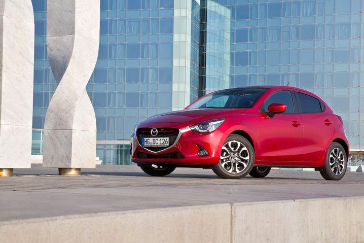 Mazda 2: Außen wie innen gelungen