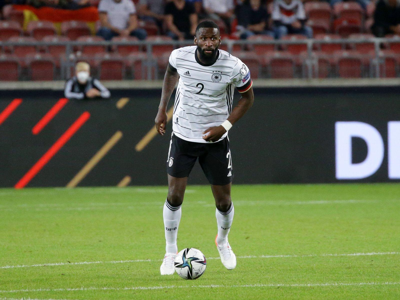 Stuttgart , Fußball WM Qualifikation , Deutschland vs. Armenien , Antonio Rüdiger (GER) *** Stuttgart , Soccer World Cu