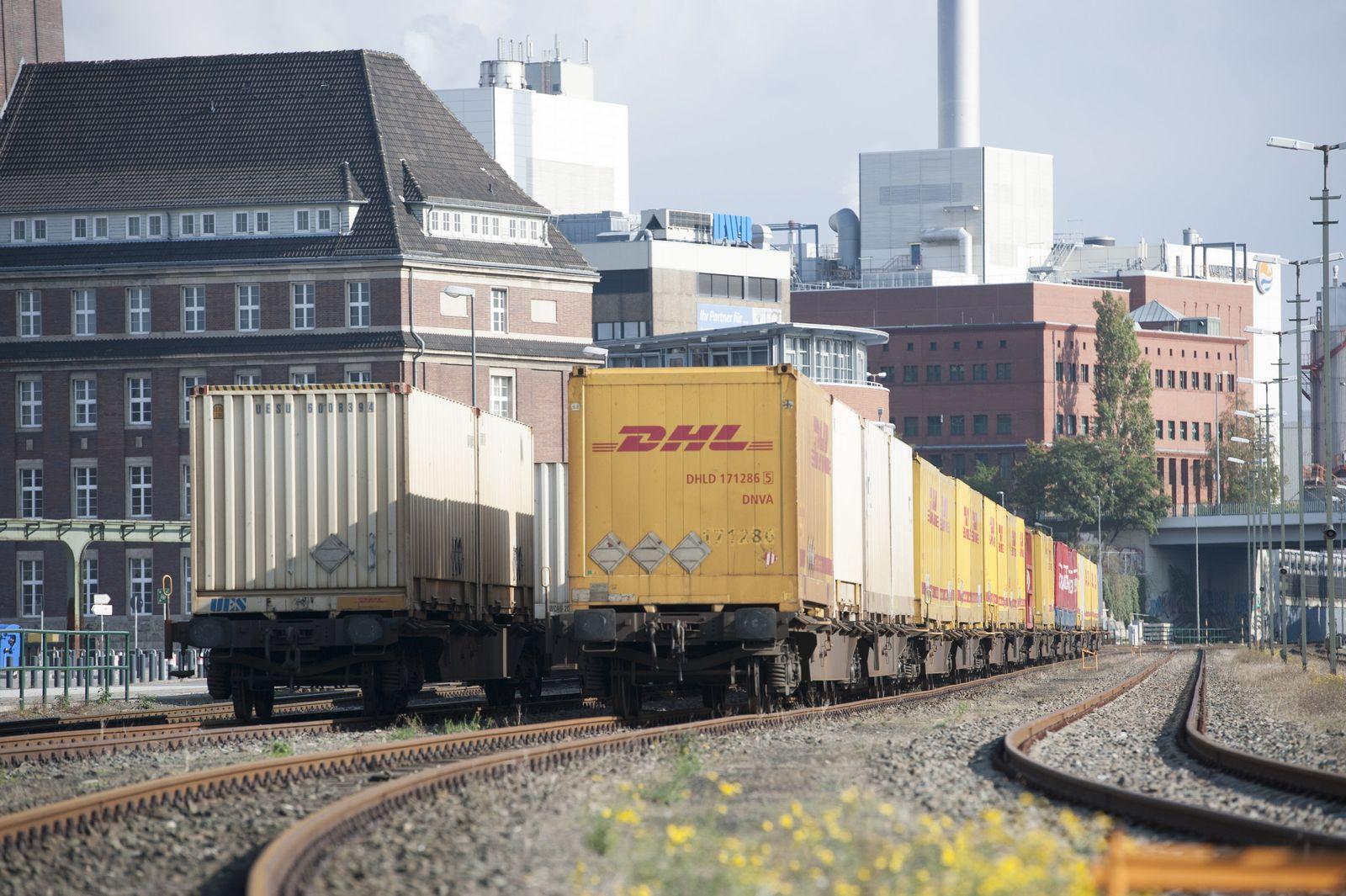 Deutsche Bahn Güterwaggons