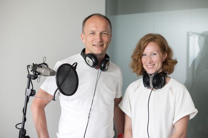 Matthias Kremp und Teresa Sickert