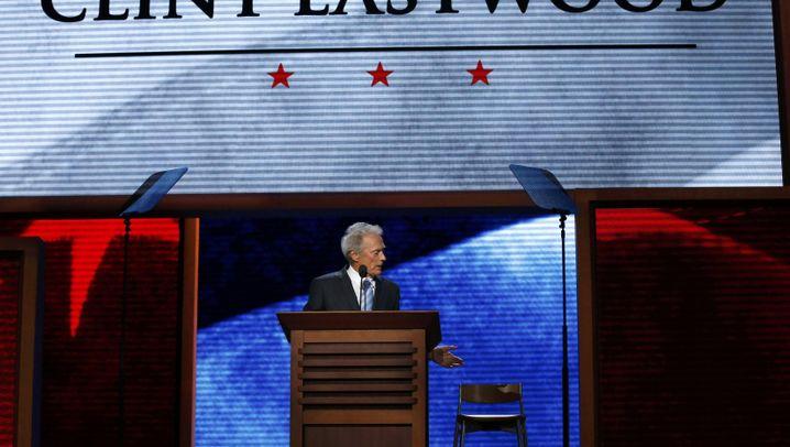 Republikaner-Parteitag: Die seltsame Rede des Clint Eastwood