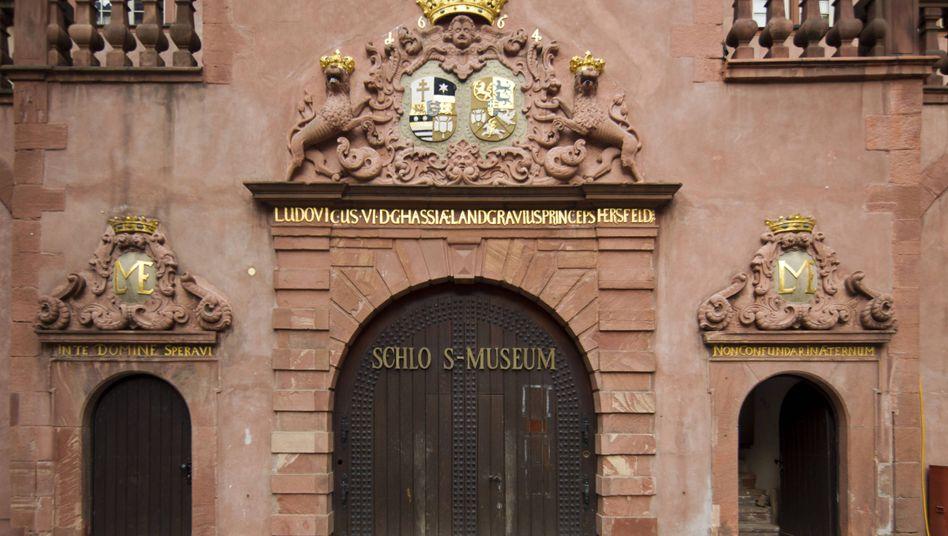 Schlossmuseum in Darmstadt, Eingang