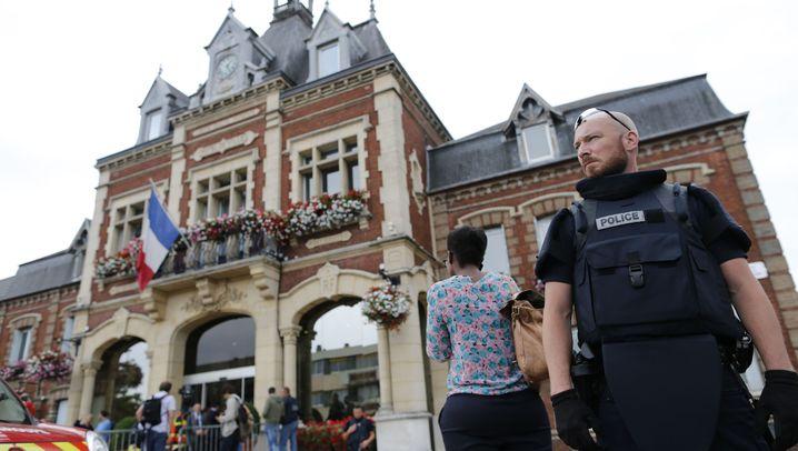 Geiselnahme in Saint-Étienne-du-Rouvray: Schock in der französischen Provinz
