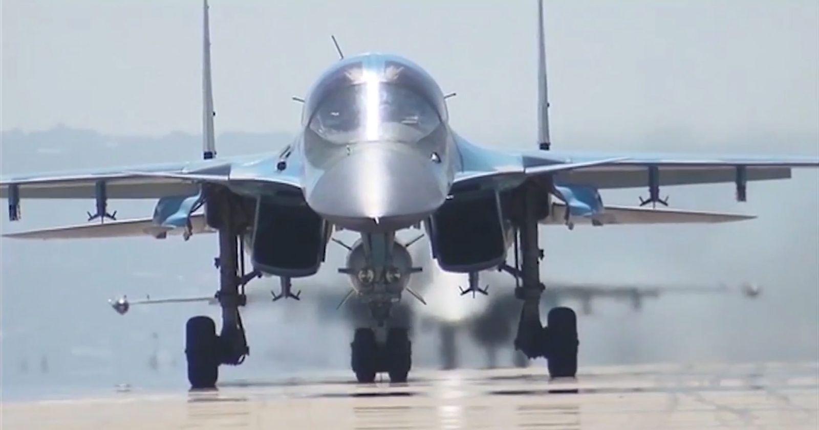 Russland/ Einsatz/ Syrien/ Probleme/ SU-34