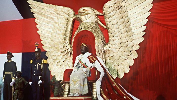 Afrikanischer Diktator Bokassa: Prassen und Zerfleischen