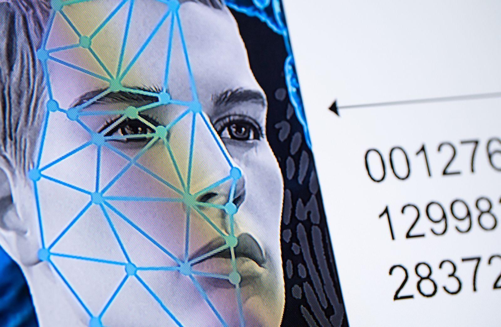 Gesichtserkennungs-Software beim LKA