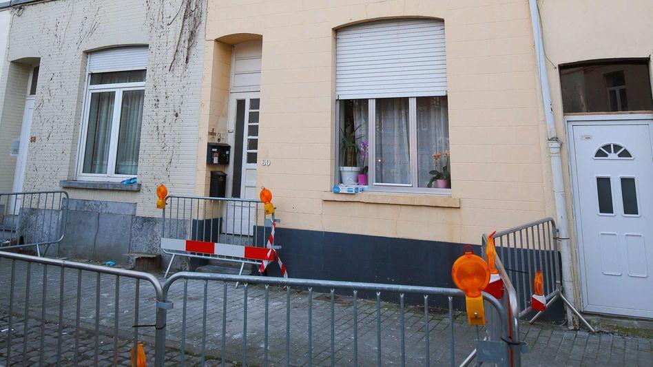 Gestürmte Wohnung in Forest bei Brüssel