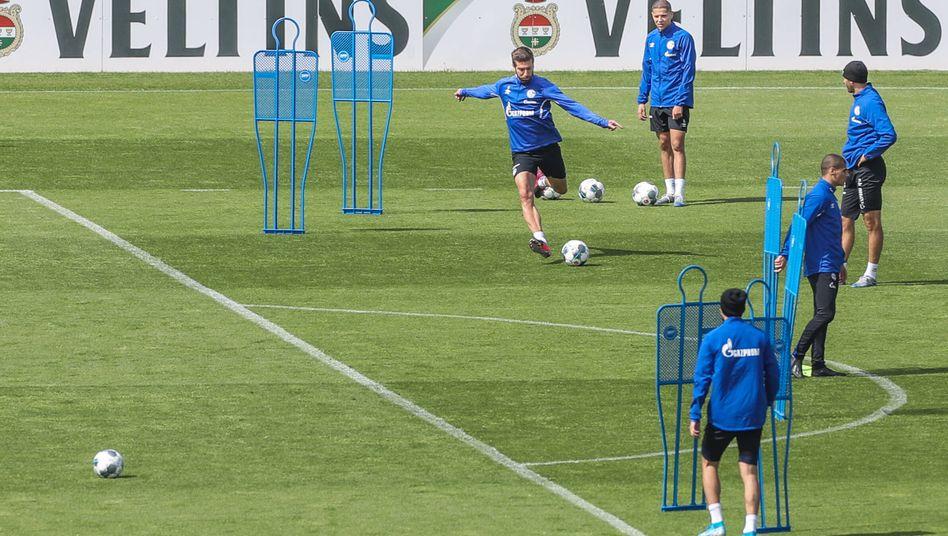 Kleingruppentraining beim FC Schalke