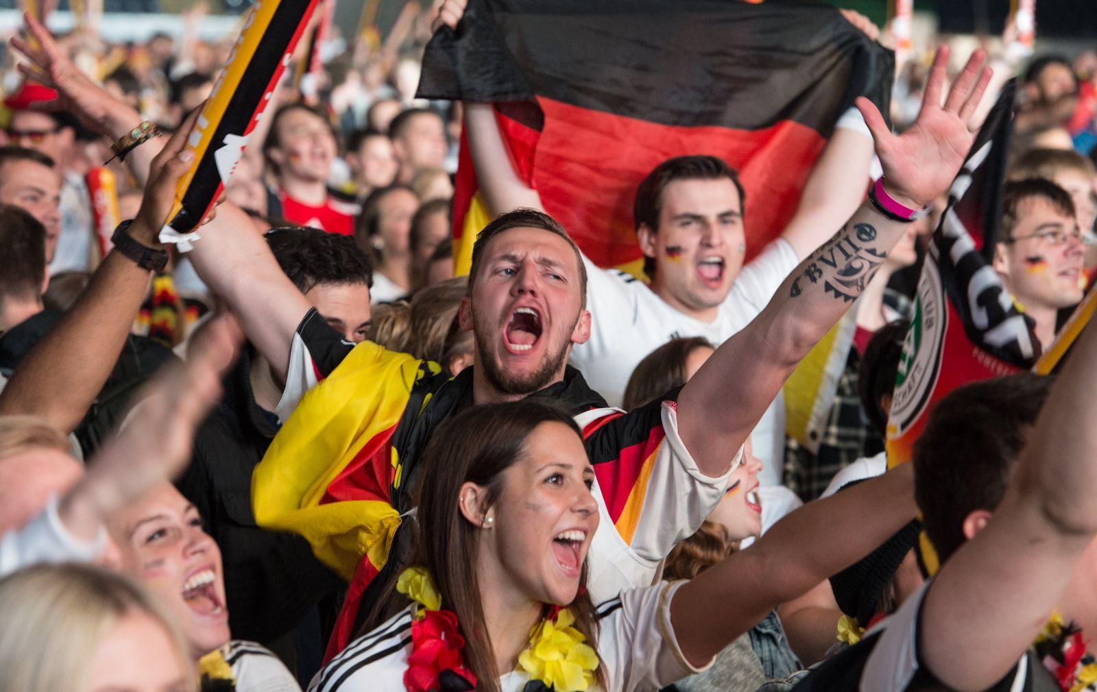 EURO 2016 - Public Viewing in Frankfurt am Main