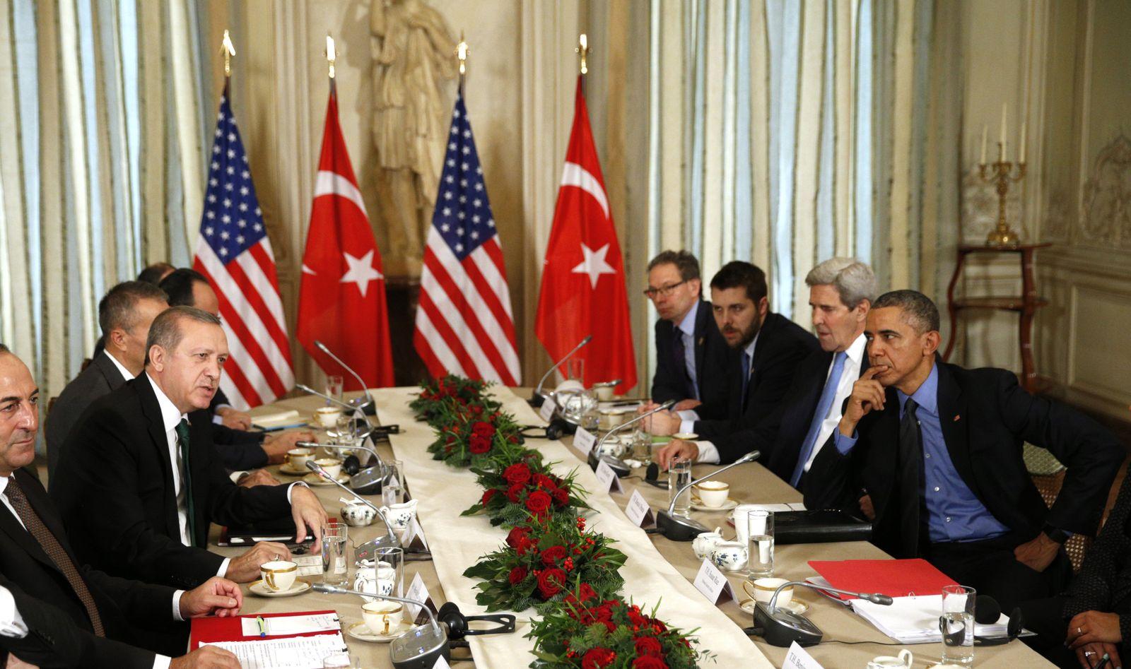 Recep Tayyip Erdogan / Barack Obama