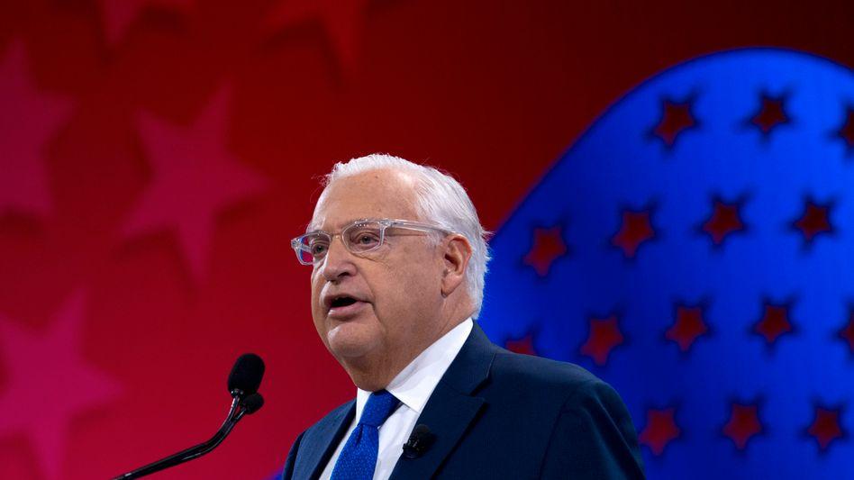 US-Botschafter David Friedman