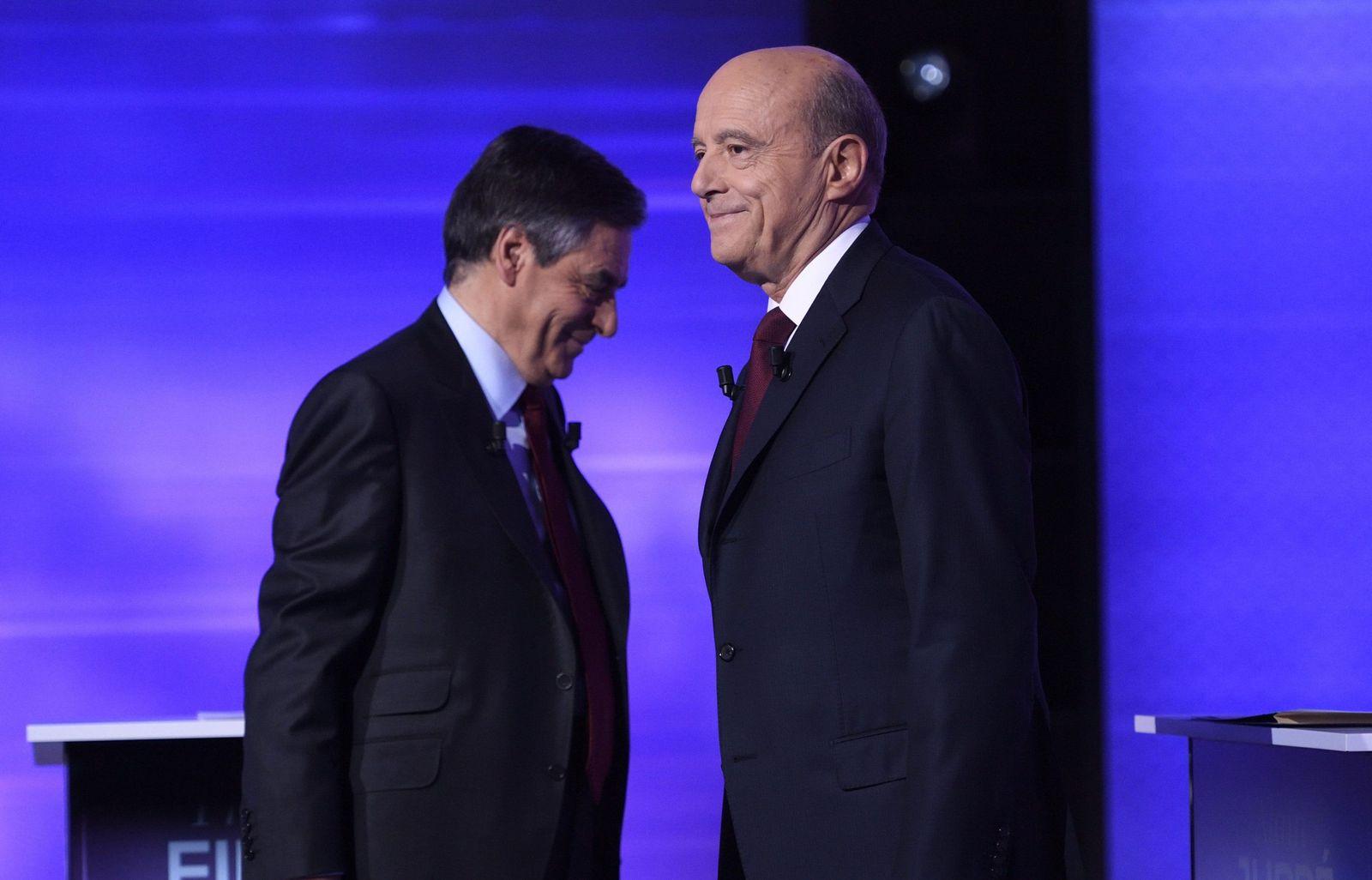 Alain Juppé, Francois Fillon
