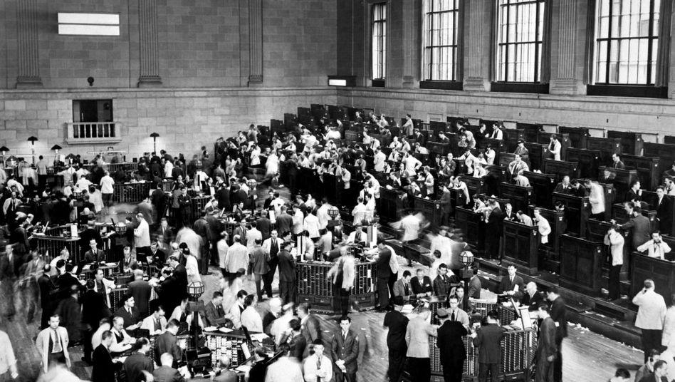 Wall Street im Oktober 1929