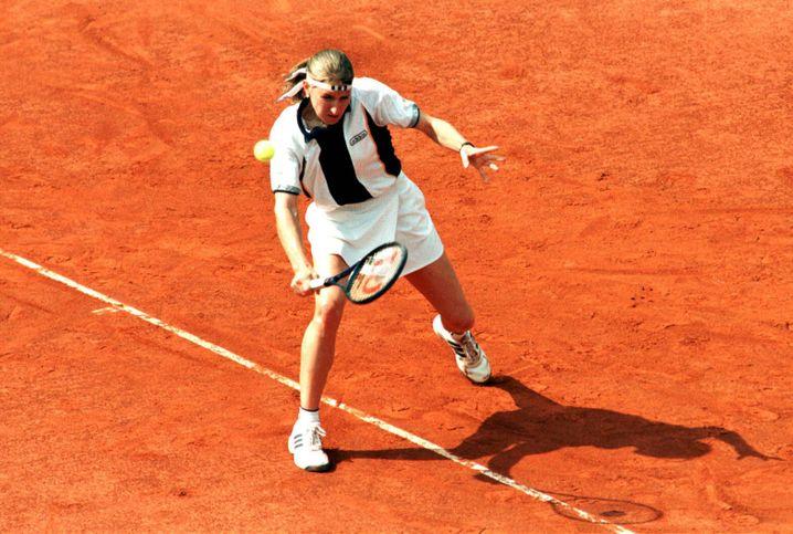 Steffi Graf gewinnt die German Open in ihrer Karriere neunmal