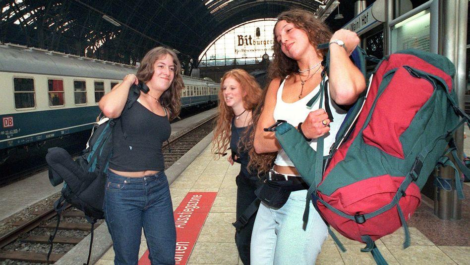 Interrail-Reisende