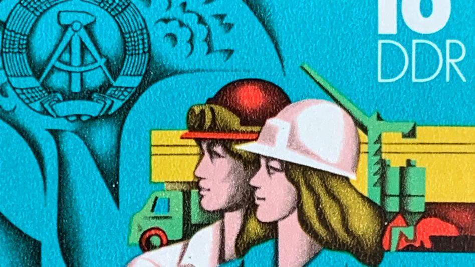 Briefmarke von 1984: Ghodsees Buch ist eine freundliche Einladung