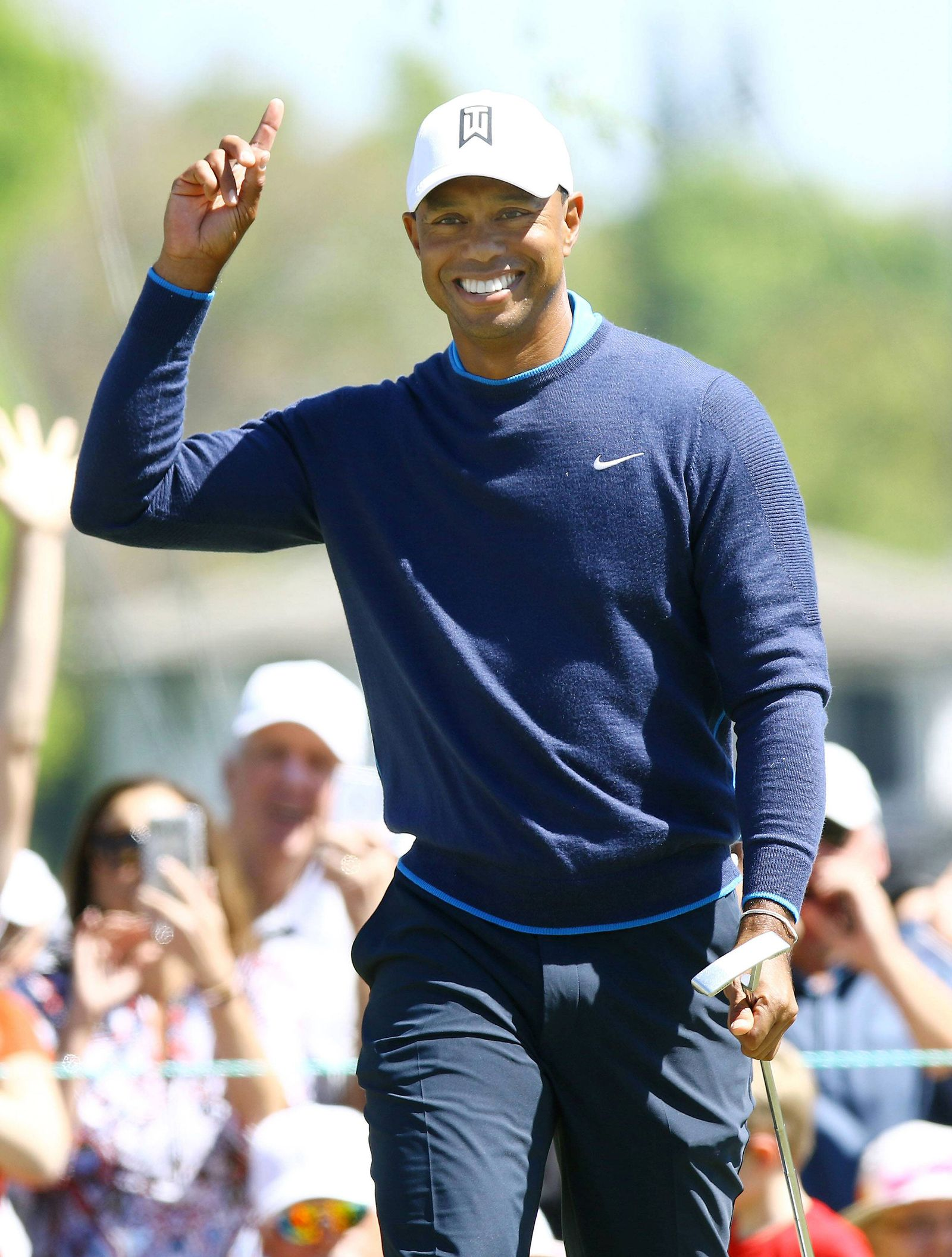 EINMALIGE VERWENDUNG Tiger Woods