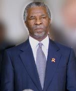 Südafrikas Präsident Thabo Mbeki