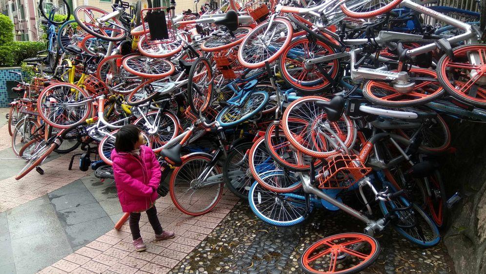 Leihräder in China: Der Turmbau zu Radel