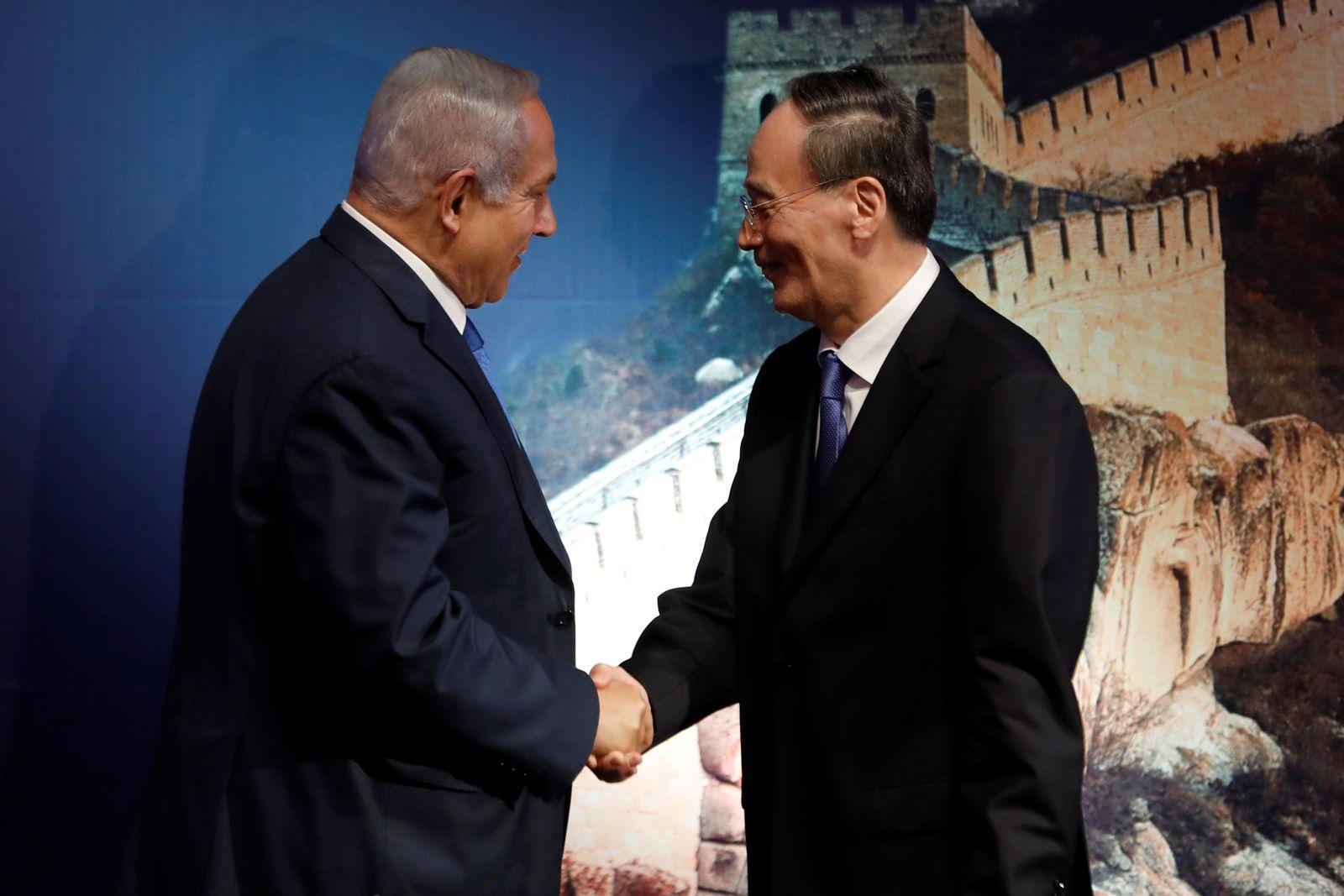 Netanyahu/ Wang