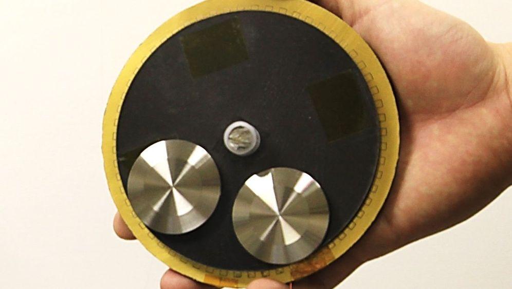 Mini-Generator: Energie aus Bewegung